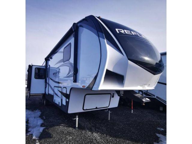 LS-D-1355 Neuf Grand Design Reflection FW 337RLS PEBBLE 2021 a vendre1
