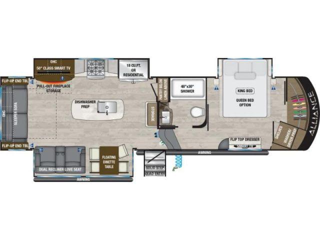 LS-A-0178S Neuf Alliance Paradigm 310RL SEAPORT MINK 2021 a vendre1