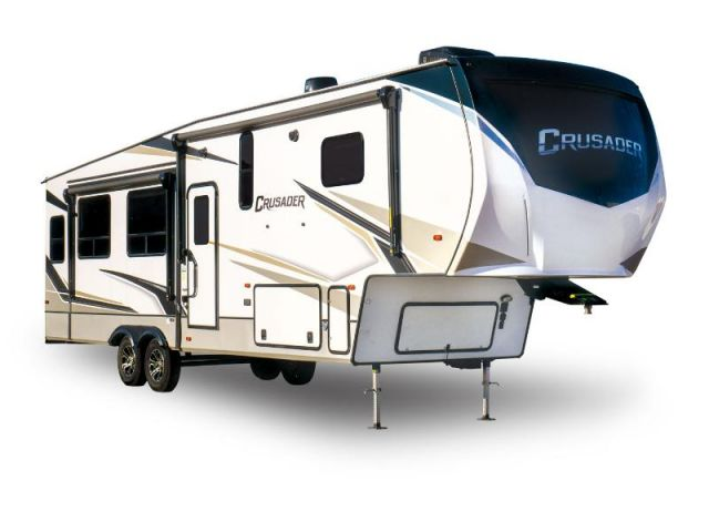 Caravanes à sellette Crusader Prime Time Crusader 305RLP Dusk