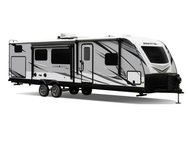 Travel trailers and Fifth wheels Jayco White Hawk 27RB Vintage Washed Grey