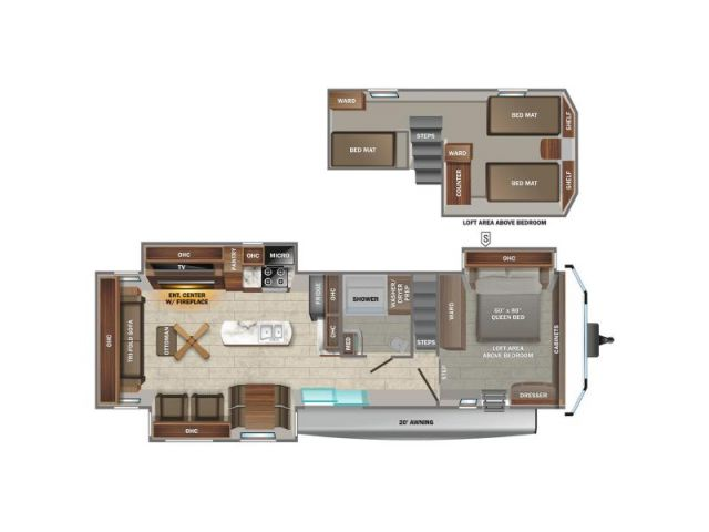 Roulottes Jayco Jayco Jay Flight Bungalow 40DLFT Carbon