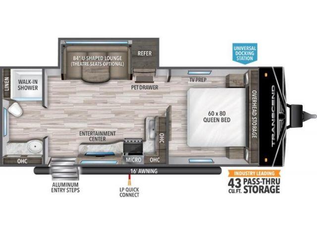 Roulottes Transcend XPLOR Grand Design Transcend Xplor 221RB Gunstock