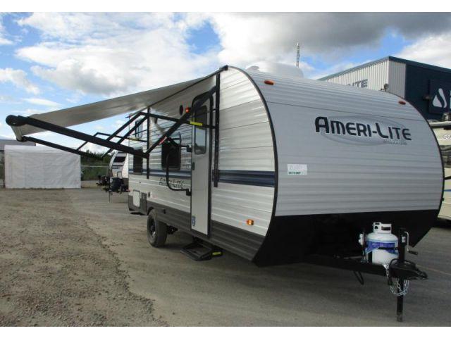 Roulottes et caravanes à sellette Gulfstream Ameri Lite Super 197BH Silver