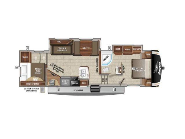 Caravanes à sellette Eagle Jayco Eagle HT 29 5BHDS Modern Farmhouse