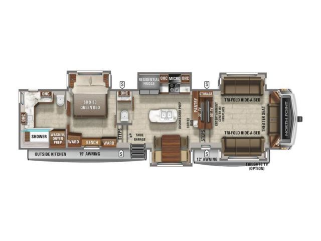 North Point Jayco North Point 382FLRB Classic Cottage