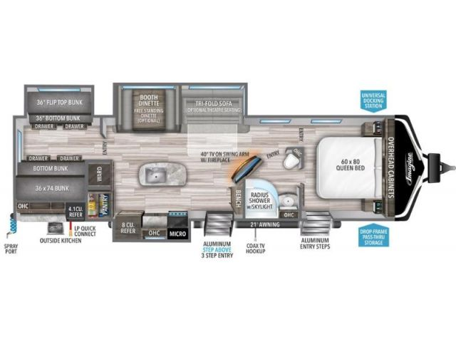 Inventaire Grand Design Imagine 3250BH Pebble