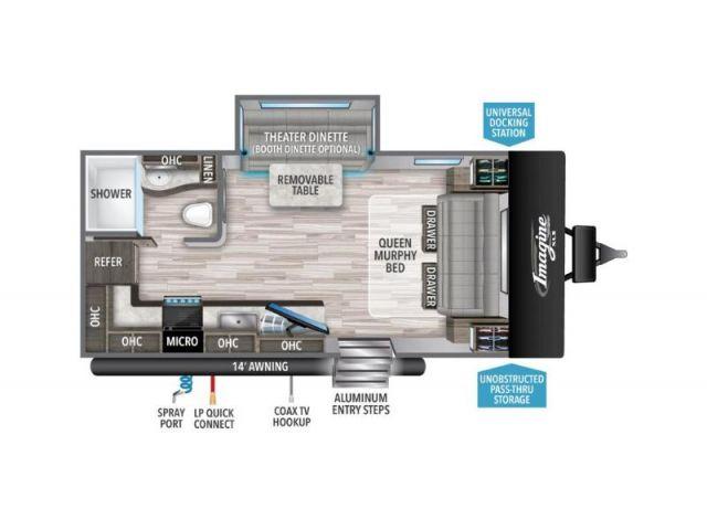 Inventaire Grand Design Imagine XLS 17MKE Pebble