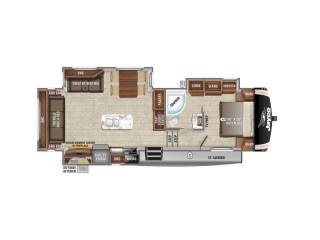 Caravanes à sellette Eagle Jayco Eagle HT 28 5RSTS Modern Farmhouse