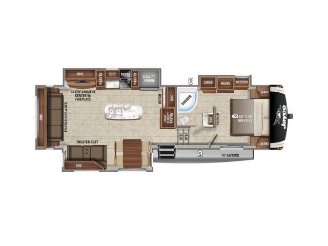 Caravanes à sellette Eagle Jayco Eagle HT 30 5CKTS Modern Farmhouse