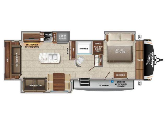 Eagle Jayco Eagle HT 294CKBS Modern Farmhouse